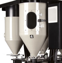 Conair TrueWeigh™ Continuous Blender visibility into hopper