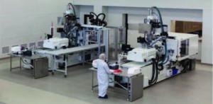 Plastics Processing Clean Room