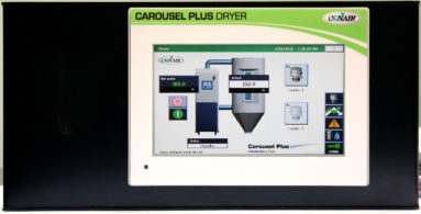 MedLine® Carousel Plus W Dryer control panel