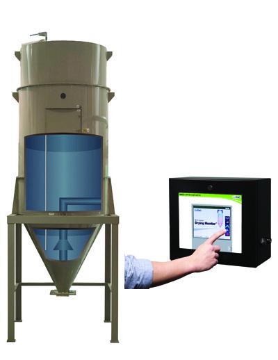 DM3-i Model Drying Monitor
