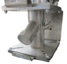 MicroWheel dryer drain port/throat adapter