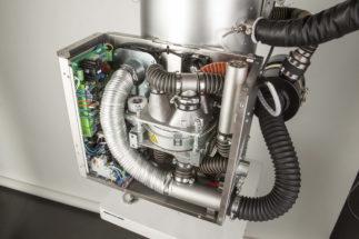 MicroWheel Dryer interior