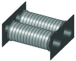 MedLine® ResinWorks System multiple sled connection kit