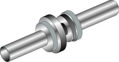 Plain tube connectors