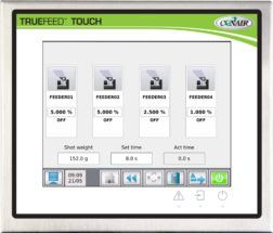 TrueFeed™ Touch Control panel
