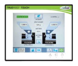 MedLine® TrueFeed Touch control double station setup