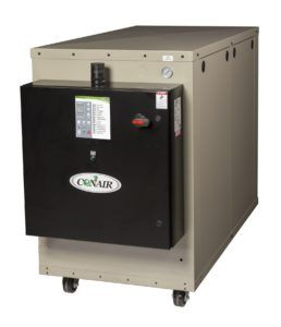 This new 10-ton water-cooled EP2 Series portable features a variable-speed compressor for dramatic power savings when handling partially loads