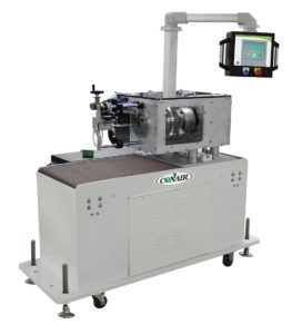 The new, patent-pending medical traveling planetary cutter (M-TPC) from Conair features a fully-programmable, servo-driven cutting head that cuts small-diameter medical plastic tubing so precisely that the need for secondary, off-line tube finishing is virtually eliminated.