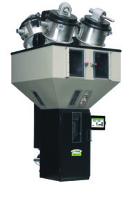 The latest upgrades to Conair TrueBlend™ gravimetric blenders introduce the next-generation SmartBlend SB-3 control and mechanical design changes that eliminate material losses, optimize critical blends and simplify clean-out and maintenance.
