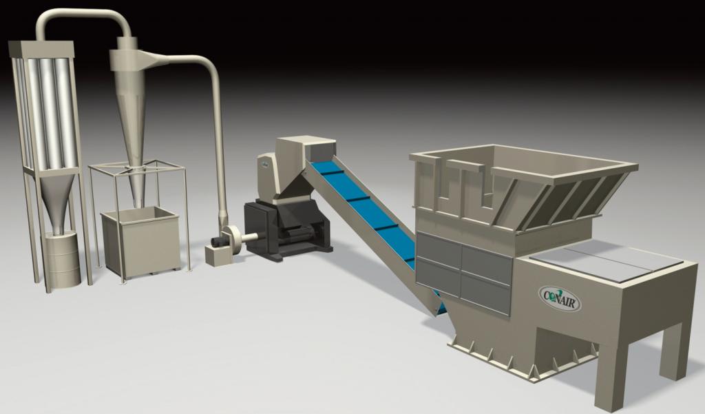 Shredder/Granulator System
