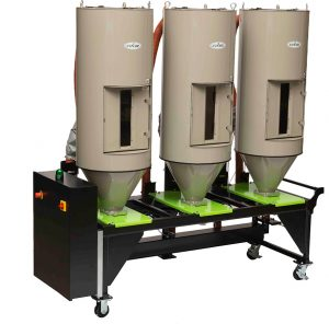 Portable multiple drying hopper solution