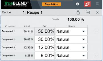 Edit recipe on SB-5