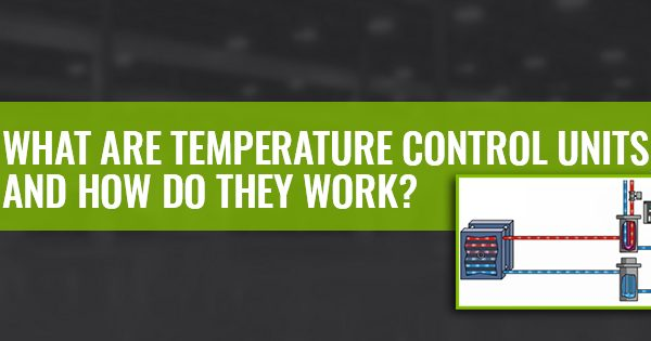 What are temperature control units and how do they work?